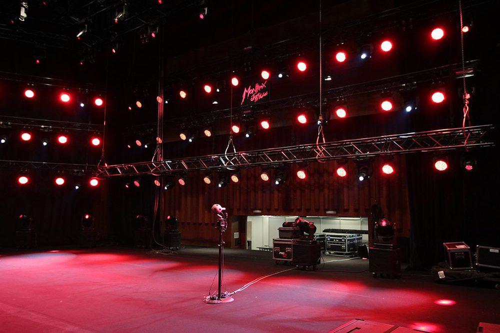 Live-Setup mit OZO-Kamera