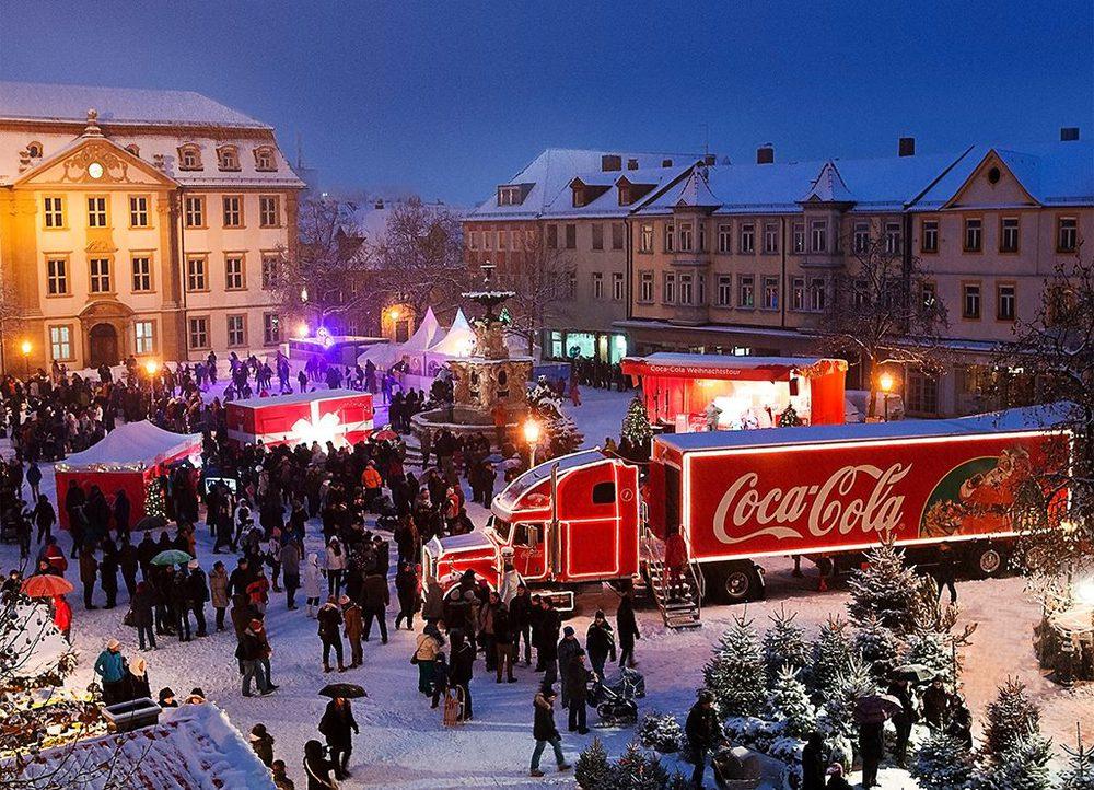 Coca-Cola Weihnachtstruck