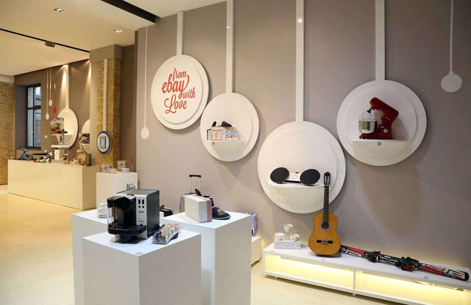 "Ein Pop-up Store zu Weihnachten: ""From ebay with love"" 