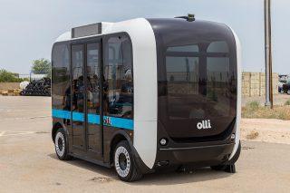 Der Bus Olli von Local Motors