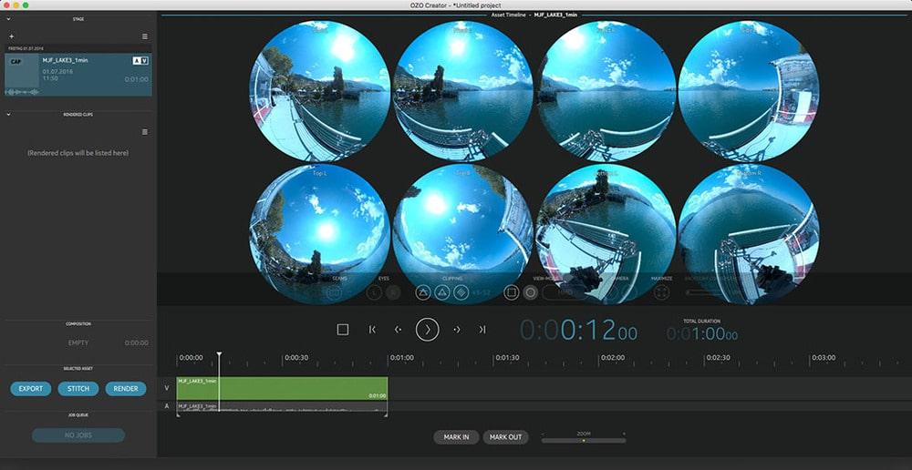 OZO Creator Screenshot