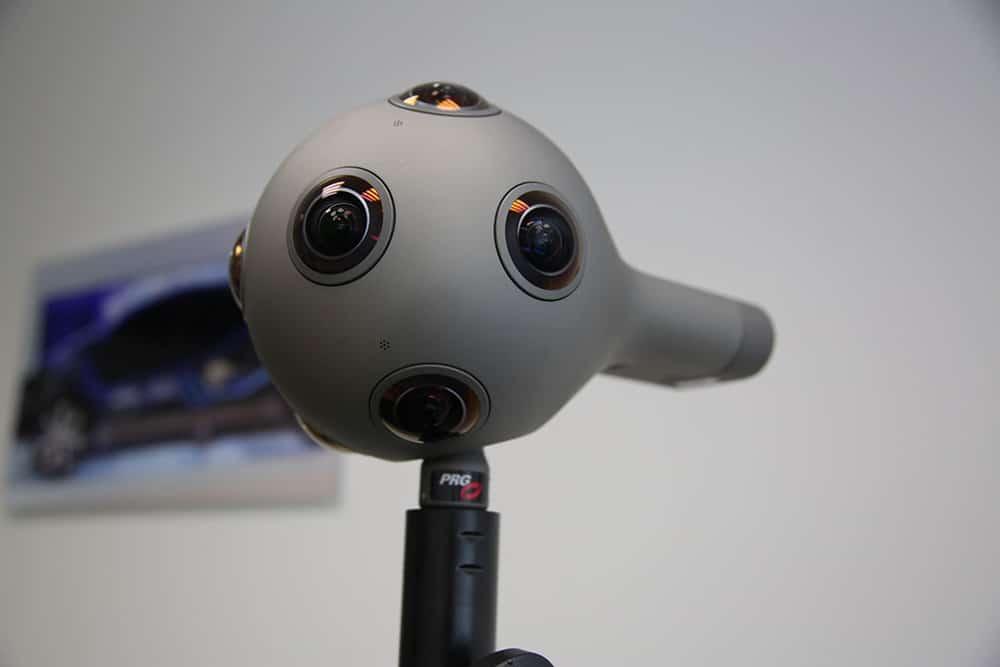 OZO-Kamerasystem von Nokia