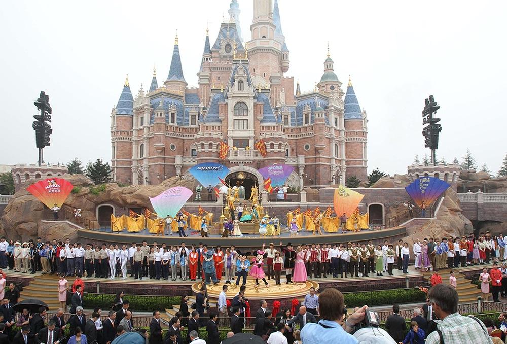 Grand Opening Of Shanghai Disneyland