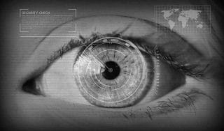 Auge in Nahaufnahme