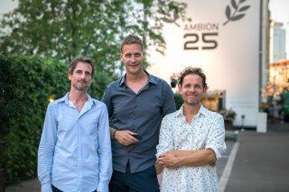 Seit über 30 Jahren befreundet: Jesko, Christian und Peter (v.l.).