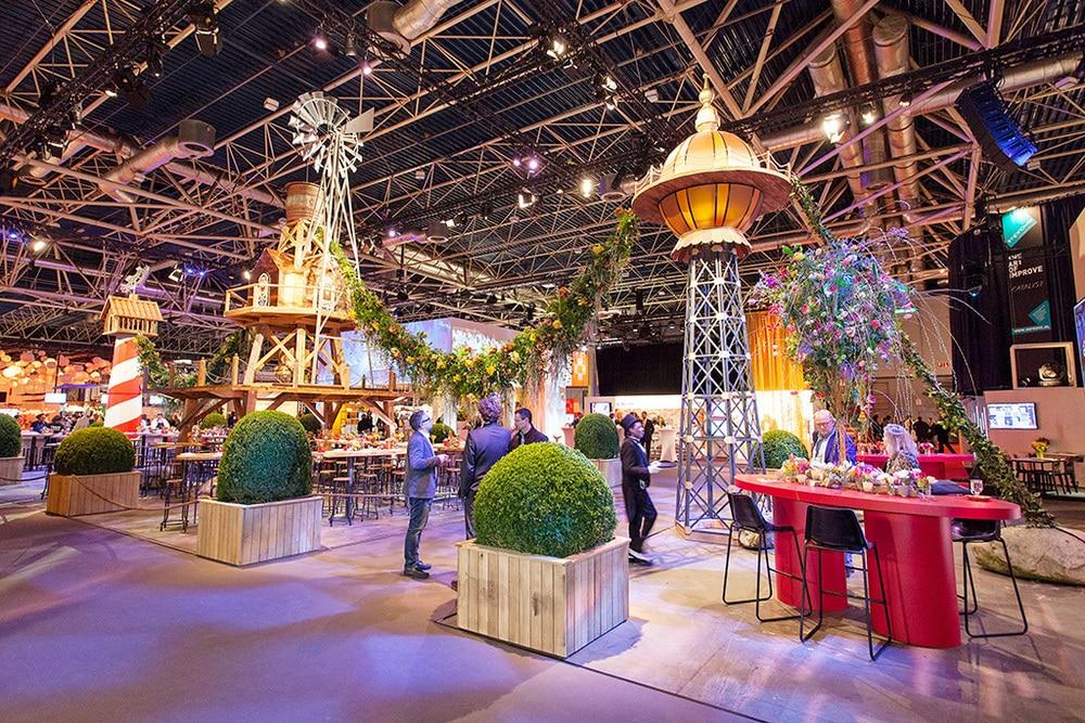 Holland Pavillon bei der Best of Events