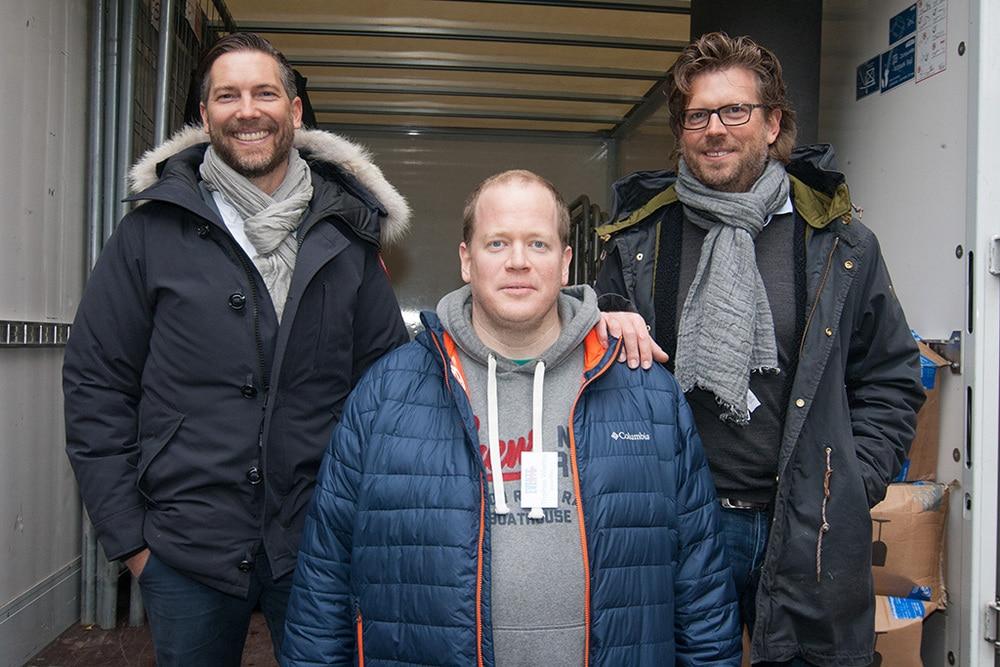 Christian Raith, Thomas Waetke und Michael Sabokat