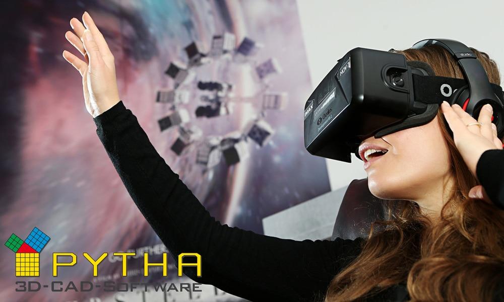 PYTHA-Software unterstützt Oculus Rift