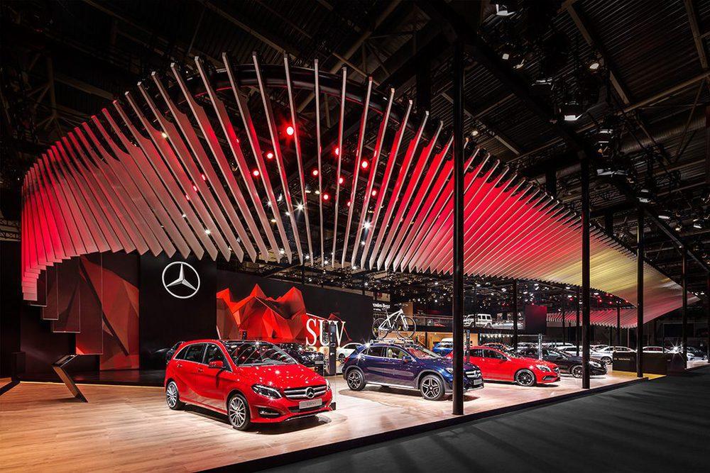 Inszenierung von Monomango für Mercedes-Benz auf der Auto China 2016