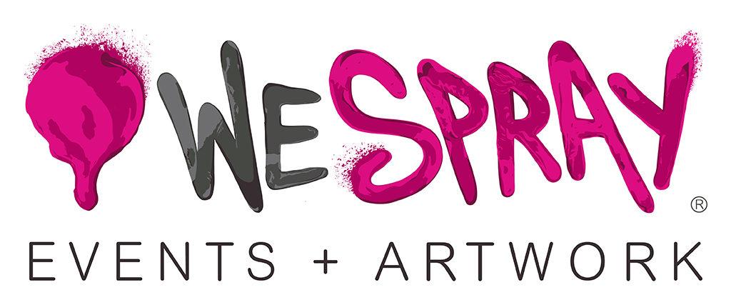We Spray Logo