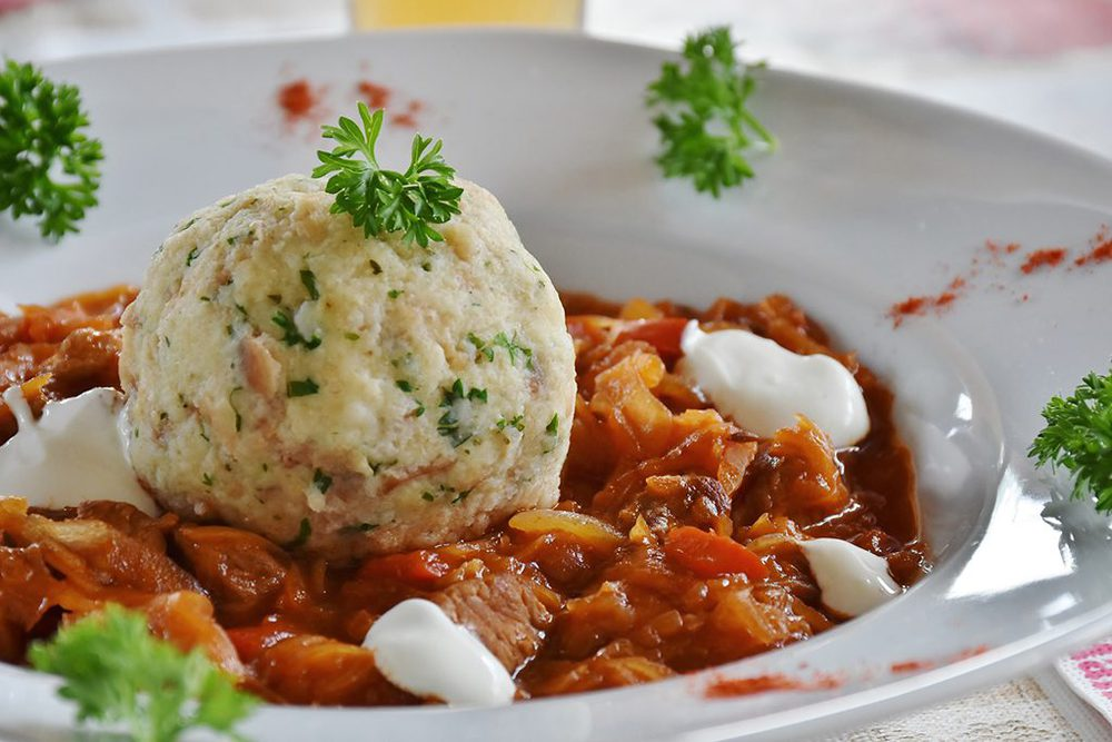 Traditionell deutsches Catering