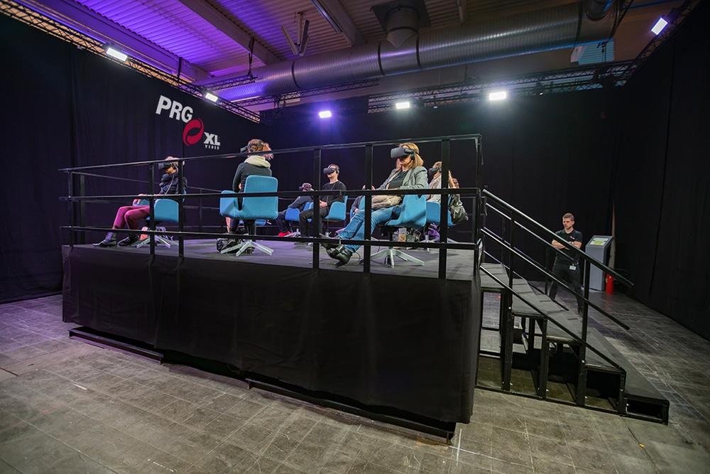 PRG XL Video VR-Experience auf der BOE 2017.