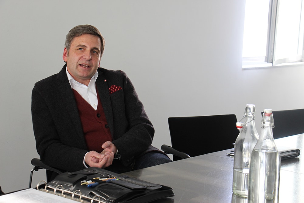 Lothar Messerich ist Geschäftsführer beim mittelständischen Caterer Messerich-Catering aus Ingelheim