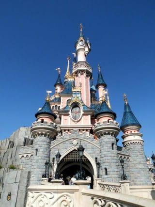 Das Märchenschloss im Disneyland