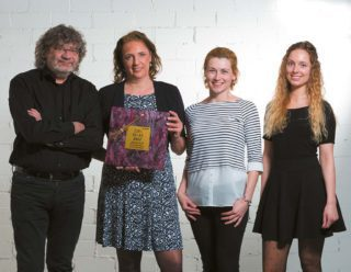 Übergabe des Zora Awards