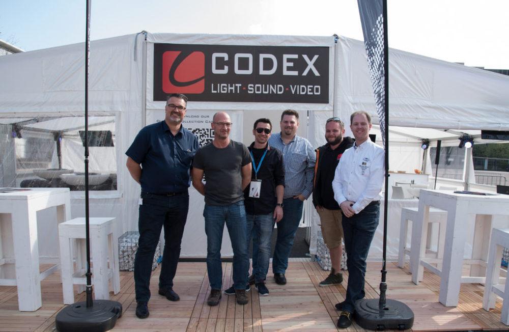 Team von Codex Events S.A. auf der Prolight + Sound 2017