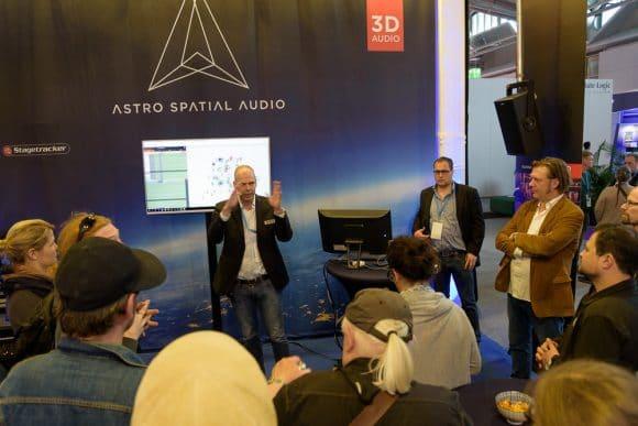Guided Tour auf der Prolight+Sound mit Bjorn van Munster (Astro Audio)
