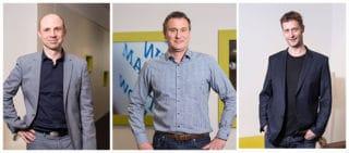 Brunk, Bauerfeind und Sommer: Teilnehmer des Round Table Talks zu Arbeit 4.0