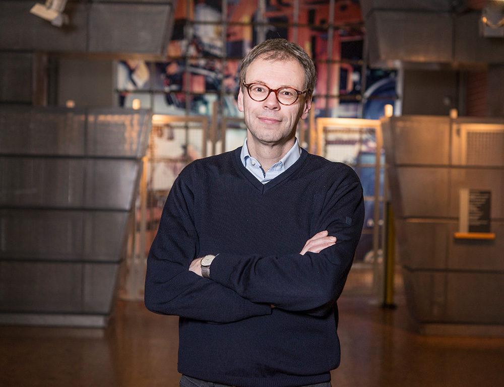 Historiker Dr. Bernd Holtwick, DASA Arbeitswelt Ausstellung