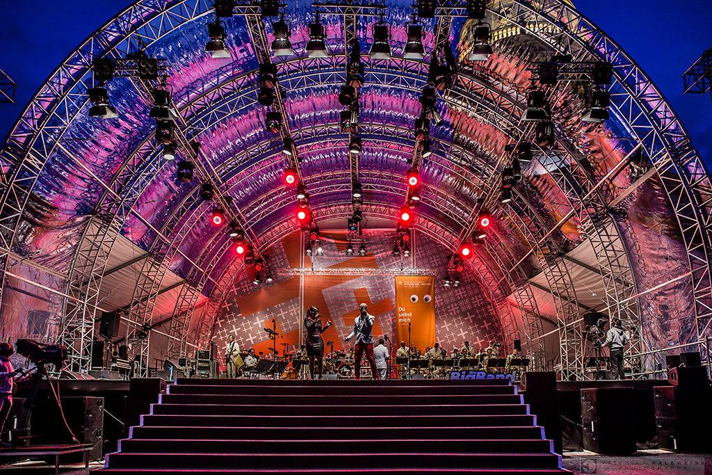 Bühne von Magic Sky