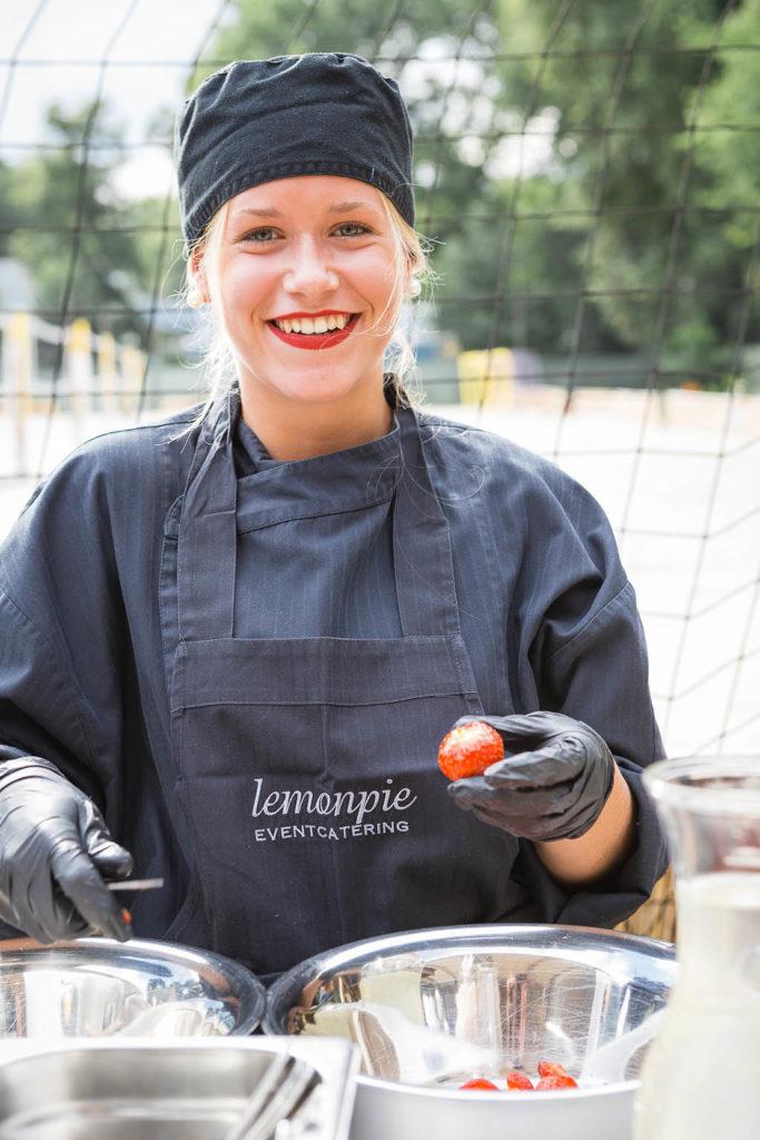 Mitarbeiterin von Lemonpie Eventcatering