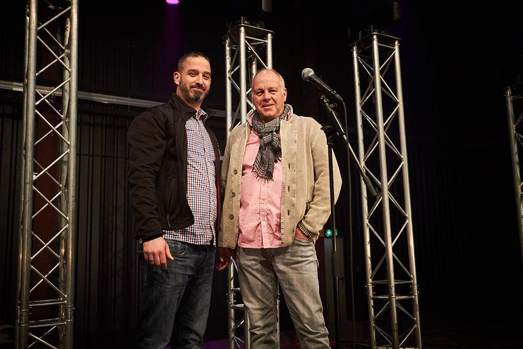 Kooperationspartner: Oliver Zeiler von müllermusic (l.) und Ingo Schmidt von Pieter Smit