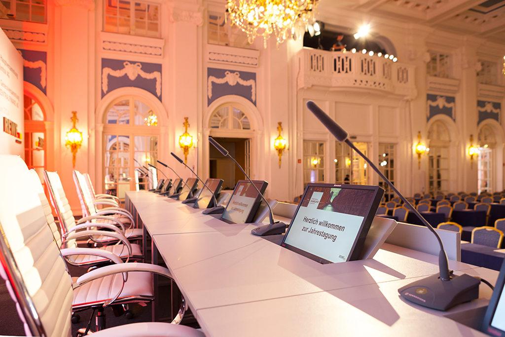REWE Jahrestagung 2014 im Hotel Atlantic Kempinski Hamburg unterstützt durch PRG