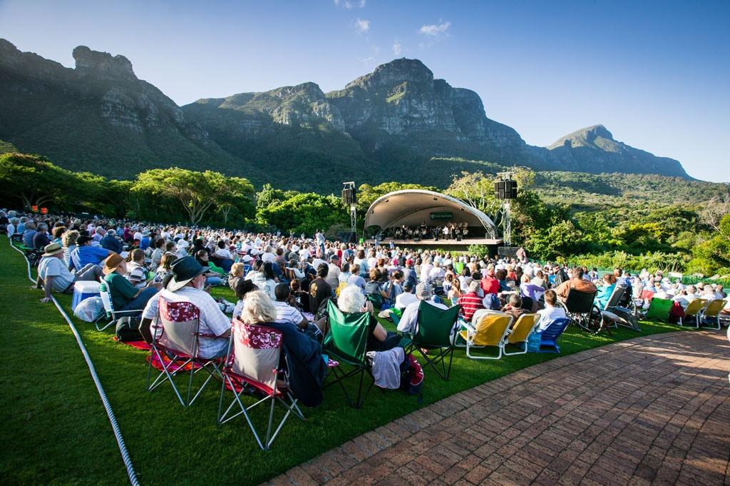 Bigband-Konzert bei Kapstadt
