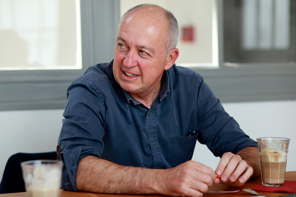 Ulrich Roth, Geschäftsführer follow red