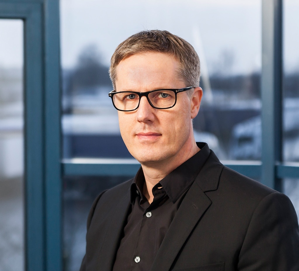 Morten Carlsson, Marketingvorstand bei der Production Resource Group (PRG)