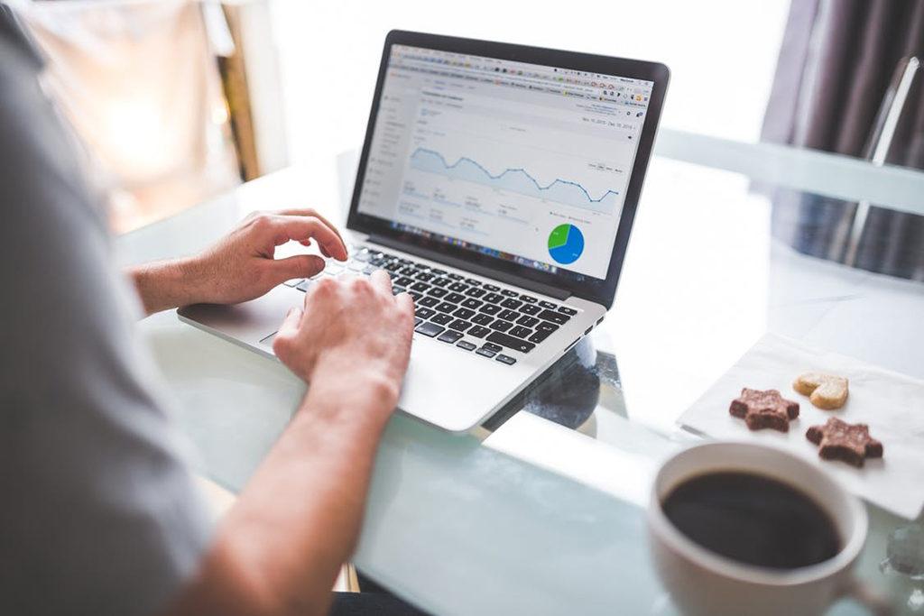Analyse mit Google Analytics