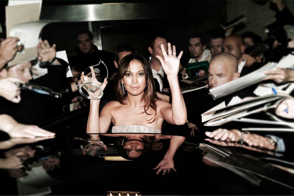 Jennifer Lopez mit Bodyguard