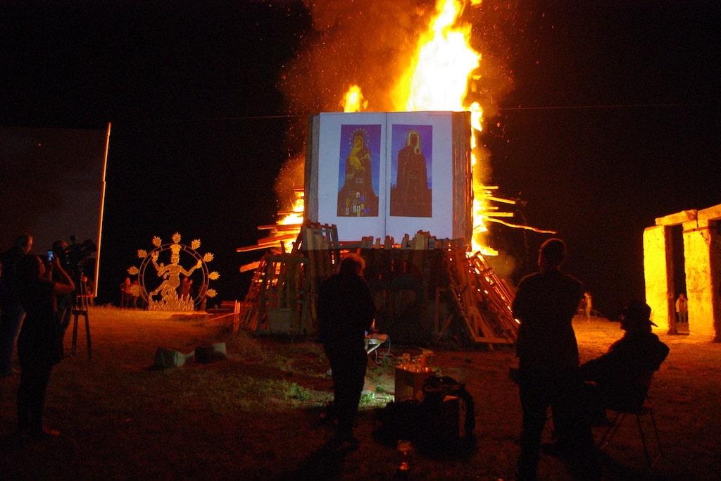 Herbert Fell, Burning Book