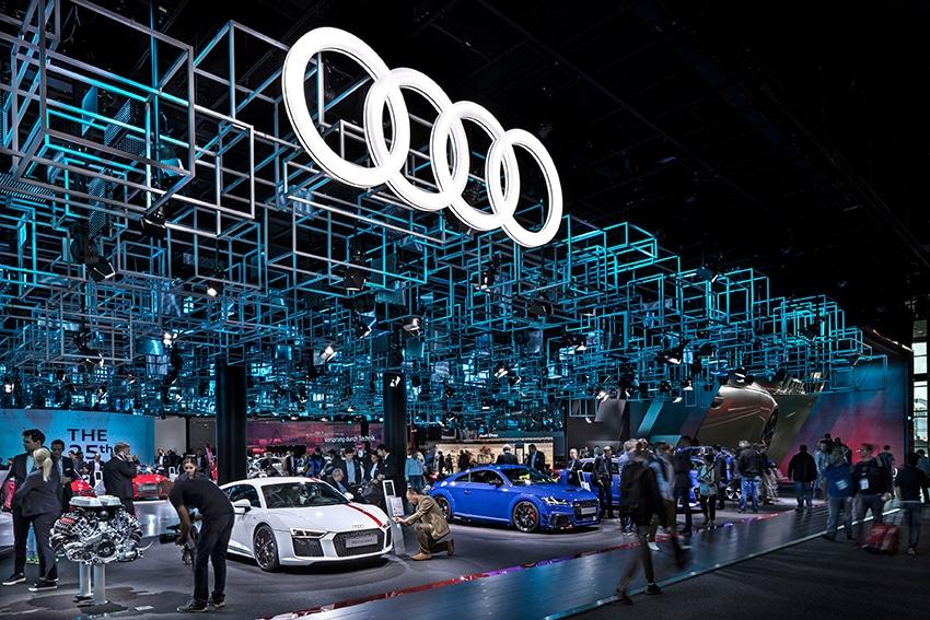 Audi-Messestand auf der IAA 2017