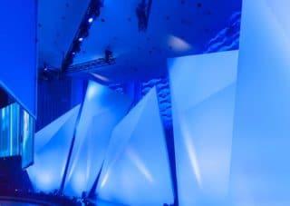 Verfahrbare Dekoelemente zur Bühnengestaltung