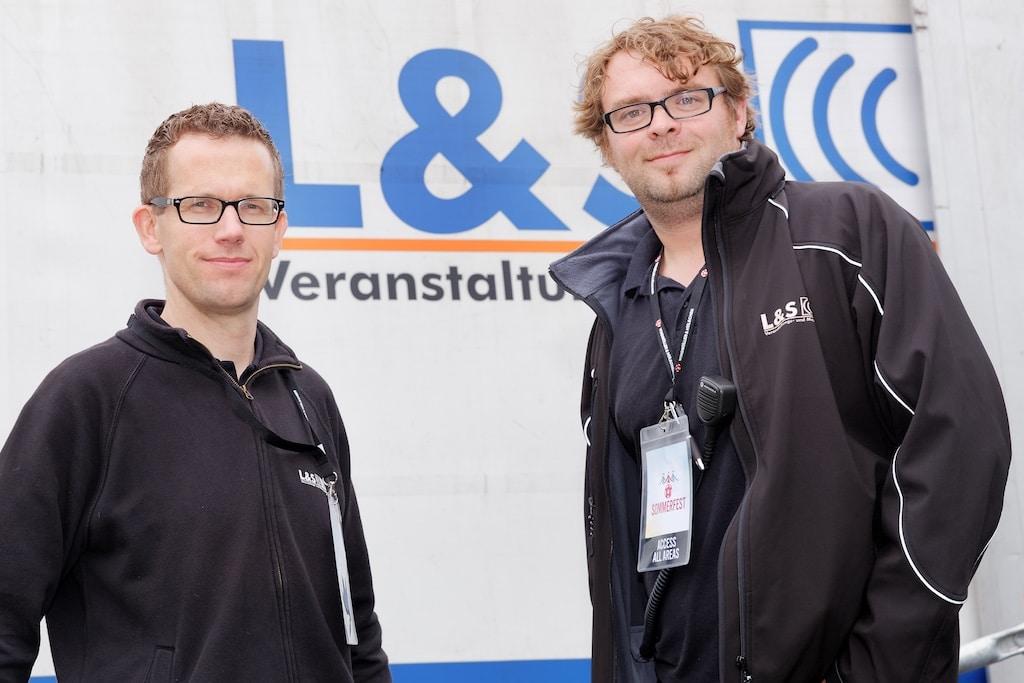 Die Köpfe von L&S: Tobias Berghaus (links) und Stefan Werthmöller