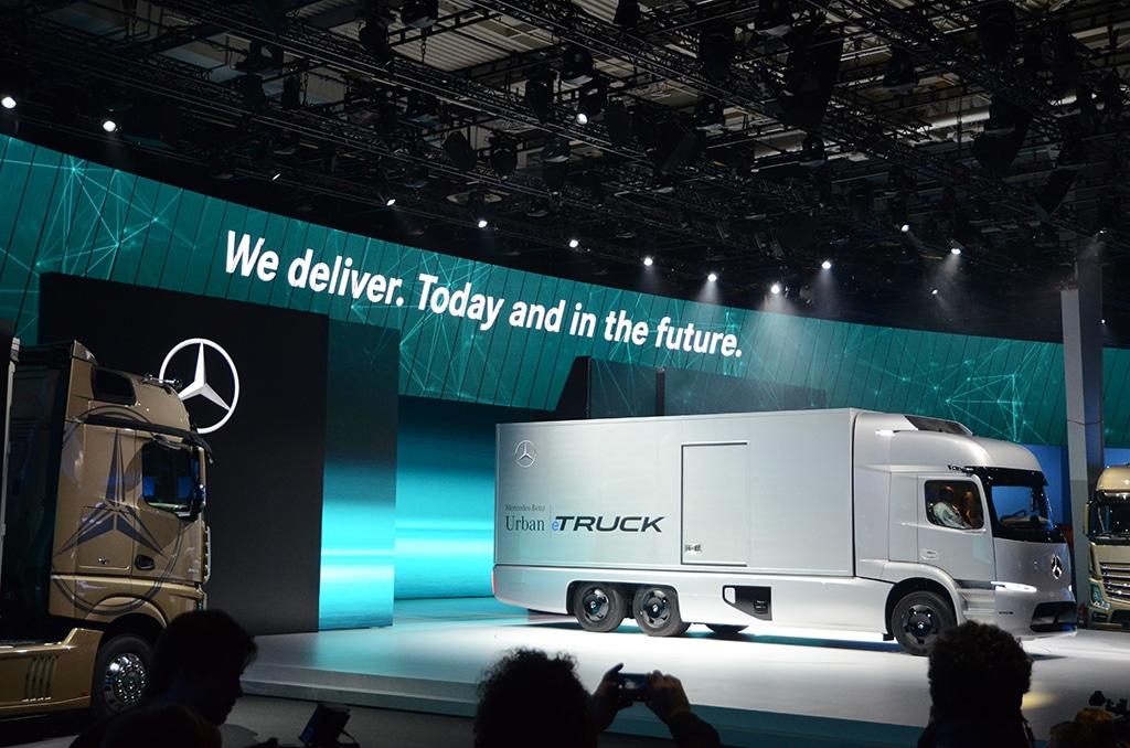 Schiffini für Daimler Trucks zur IAA