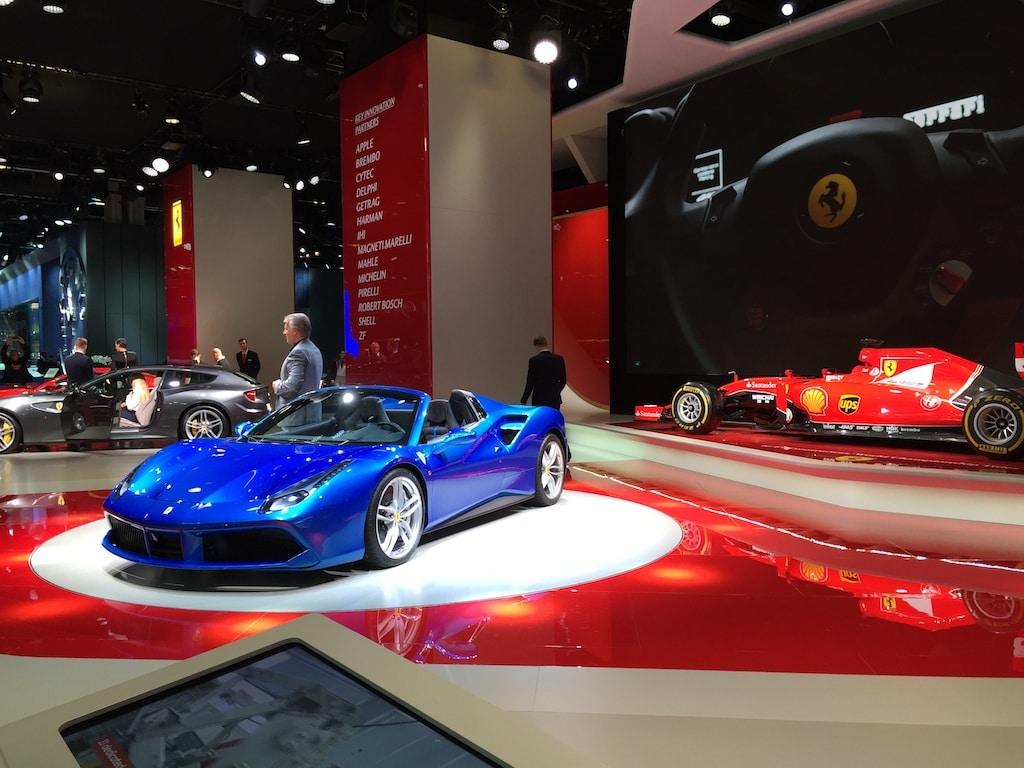 Ferrari-Messestand auf der IAA