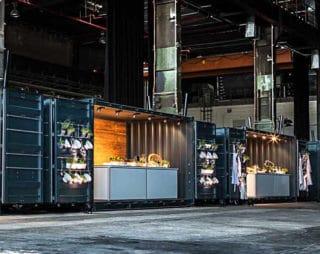 Container-Lösung von Messerich Catering