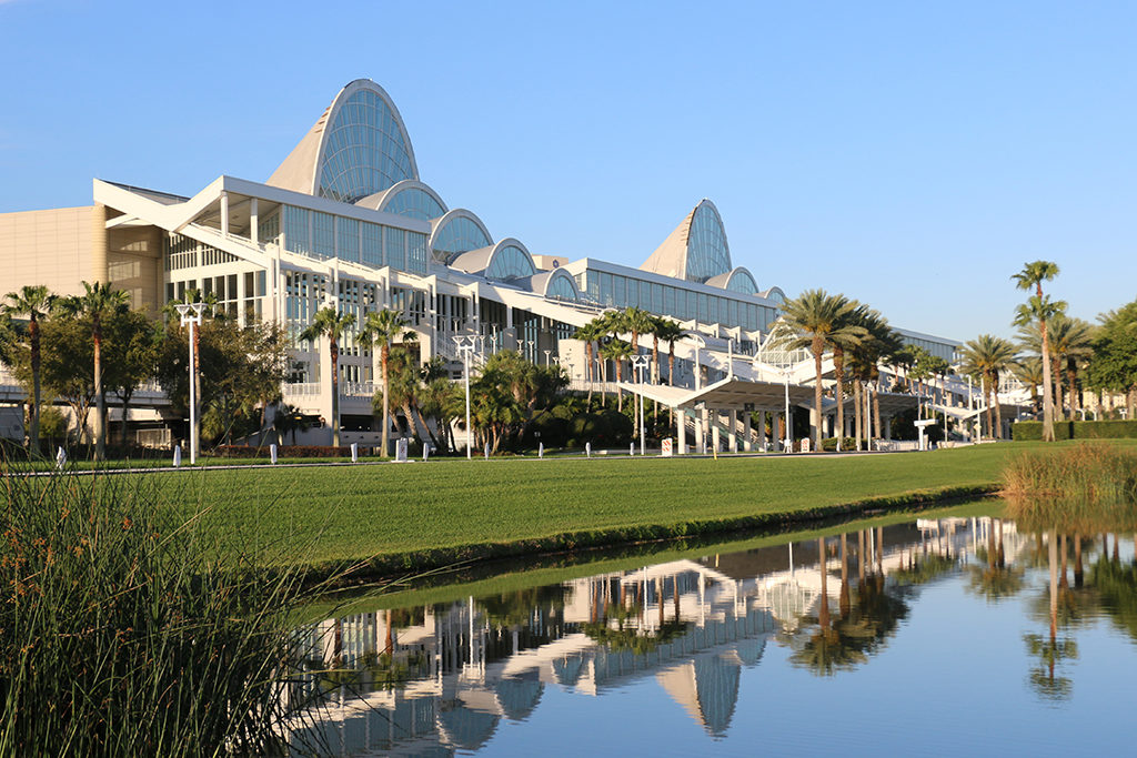 Das Orlando Convention Center in Florida