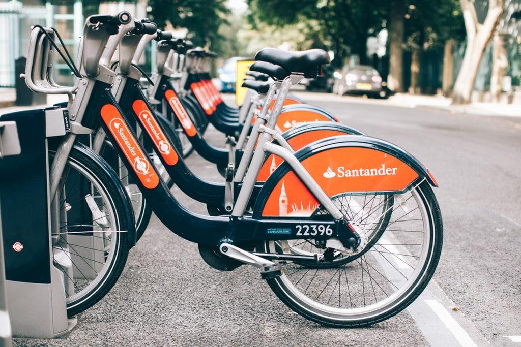 Sponsoring-Fahrrad