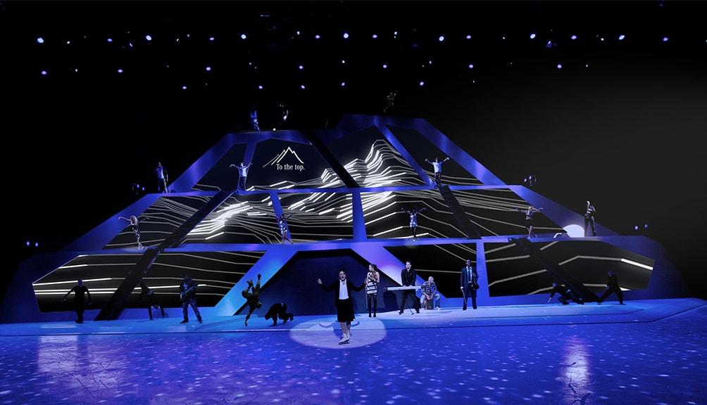 Markenshow für Daimler Benz in 2012