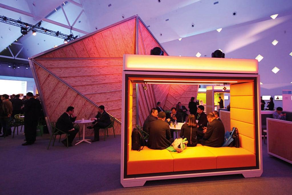 Tourtaugliche Containerlösung beim BASF CreatorSpace.