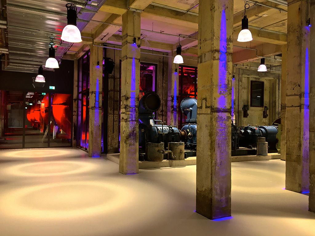 Das Foyer der Grand Hall Zollverein