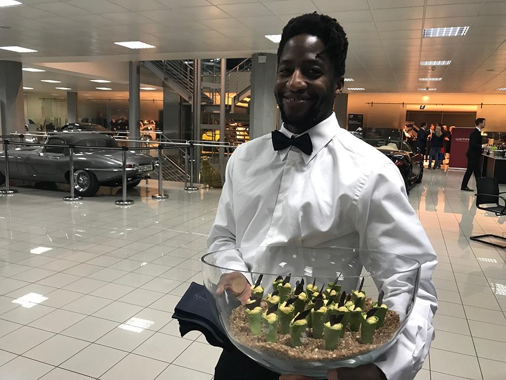 Eine brillante Begegnung: Feines Fingerfood von lemonpie