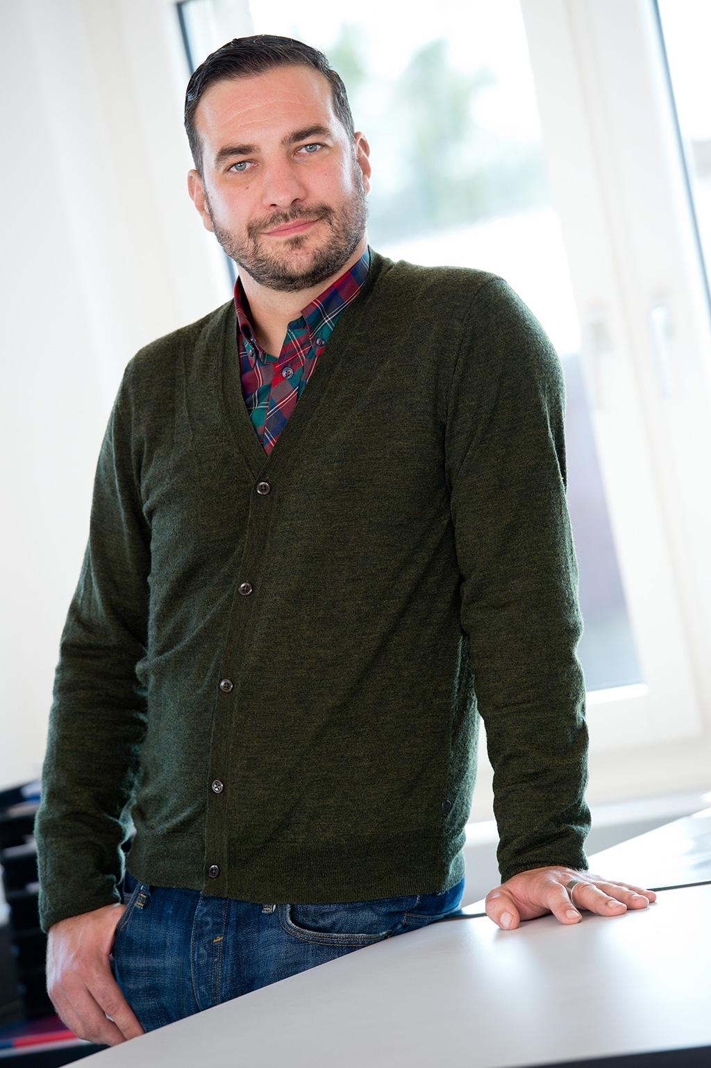 Architekt und Niederlassungsleiter bei Nüssli: Michael Kelm.