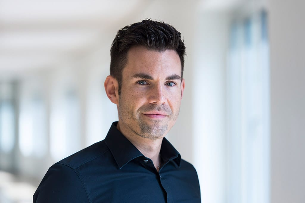 Sebastian Stemmann, Leiter Presse und Digitale Medien der Messe Essen