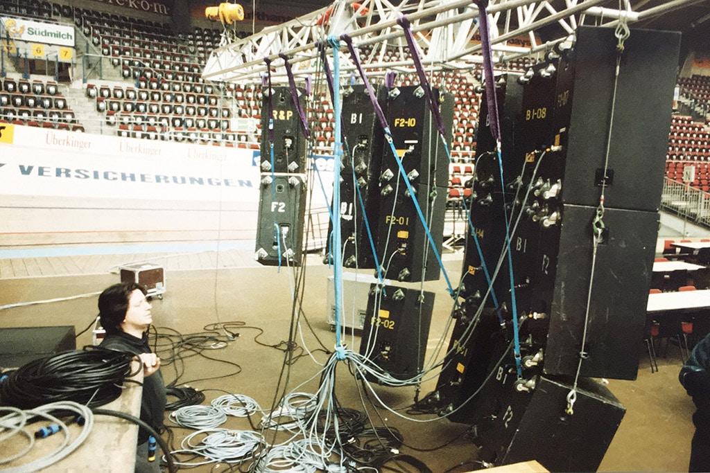 1992: Oldie-Night in der Schleyerhalle.