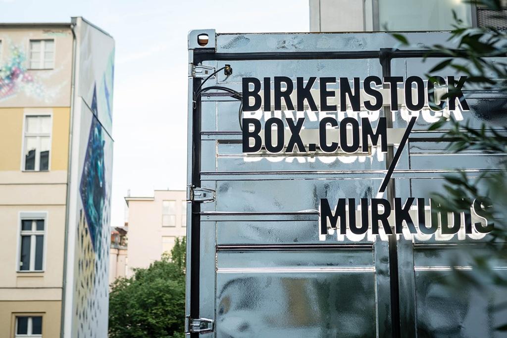 Die Birkenstock Box in Berlin