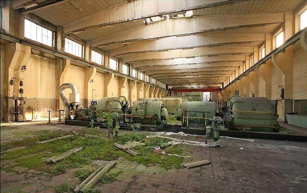 Biotop Grand Hall Zollverein